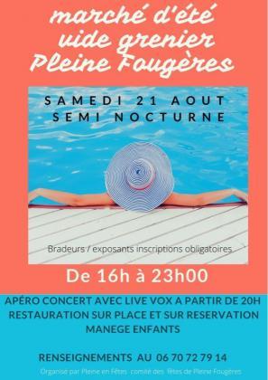 Vide-greniers de Pleine-Fougères