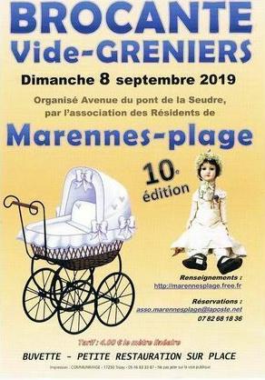 Brocante - Vide-Greniers de Marennes-Hiers-Brouage