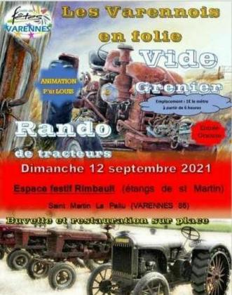Vide-greniers de Saint-Martin-la-Pallu