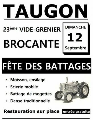 Brocante - Vide-Greniers de Taugon