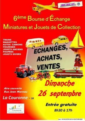 Bourse miniatures et jouets anciens de La Couronne