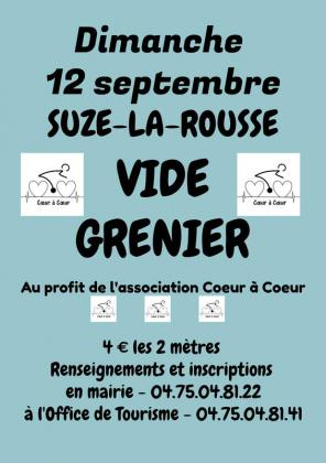 Vide-greniers de Suze-la-Rousse
