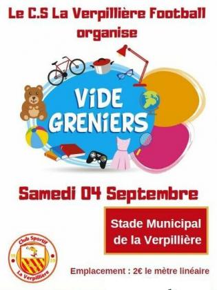 Vide-greniers de La Verpillière