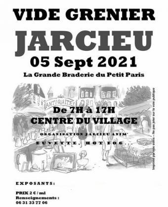Vide-greniers de Jarcieu