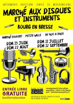 Marché aux Disques et Instruments de Bourg-en-Bresse