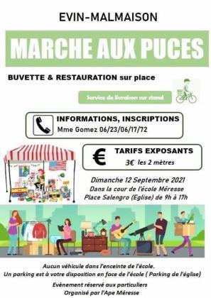 Marché aux Puces - Évin-Malmaison