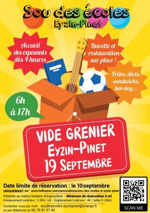 Vide-greniers - Eyzin-Pinet