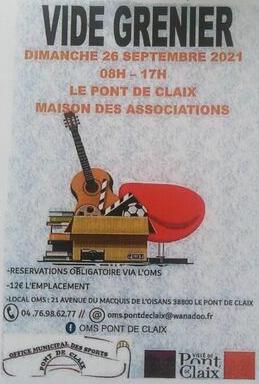 Vide-greniers - Le Pont-de-Claix