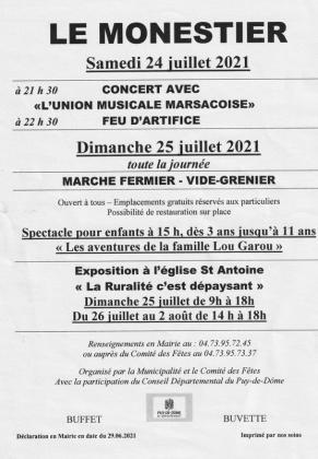 Brocante - Vide-Greniers - Le Monestier