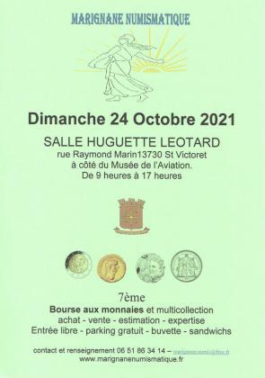 Bourse Numismatique et toutes collections de Saint-Victoret