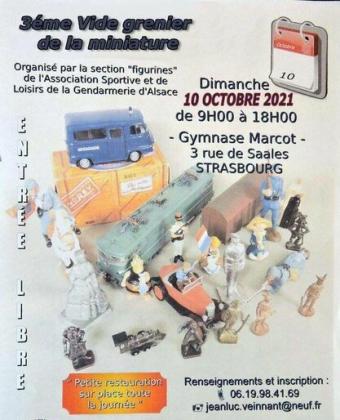 Bourse de la miniature de Strasbourg