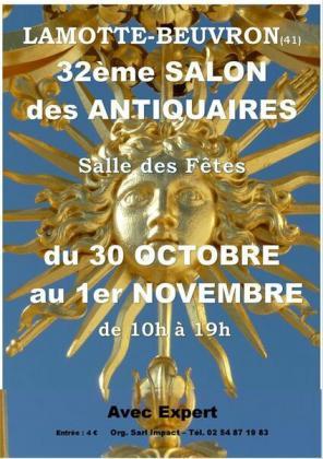 Salon des antiquaires de Lamotte-Beuvron