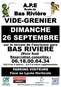 Vide-greniers de Blois