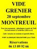 Vide-greniers de Montreuil