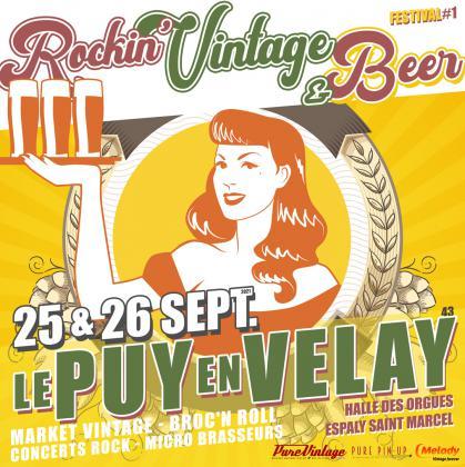 Salon Rockin Vintage Beer