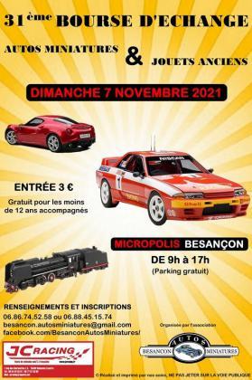 Bourse d'échange : Autos miniatures & jouets anciens de Besançon