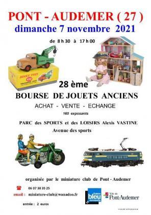 Bourse de jouets anciens de Pont-Audemer
