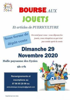 BOURSE AUX JOUETS et articles de puériculture - Les Eyzies