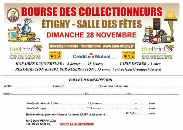 Bourse des collectionneurs - Étigny