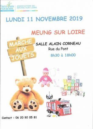 Marché aux jouets de Meung-sur-Loire