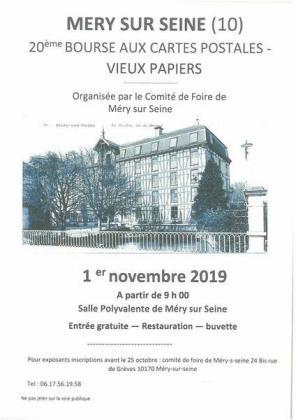 Bourse aux cartes postales de Méry-sur-Seine