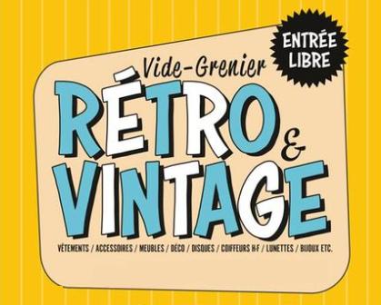 Vide grenier retro vintage de  Paris 12