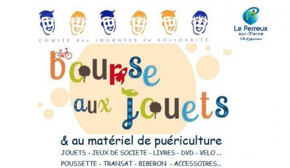Bourse aux jouets et puériculture - Le Perreux-sur-Marne