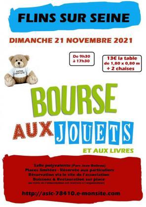 Bourse aux jouets et aux livres de Flins-sur-Seine