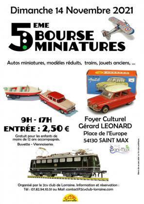 Bourse aux miniatures de Saint-Max