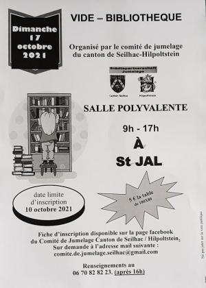 Vide Bibliothèque de Saint-Jal