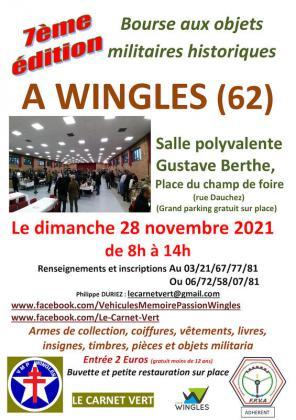 Bourse aux objets militaires historiques de Wingles