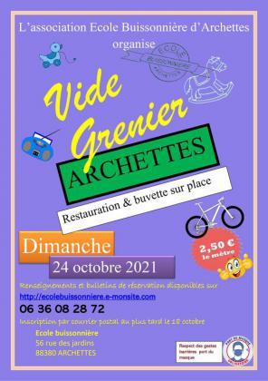 Vide-Greniers - Archettes