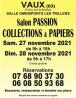 Salon Passion Collections et Papiers de Vaux