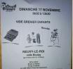 Vide-Greniers en salle spécial enfants de Neuvy-le-Roi