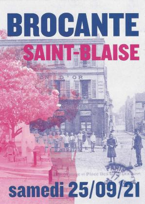 Brocante Saint Blaise