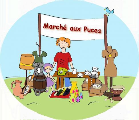 Marché aux puces de Villeneuve-lès-Maguelone