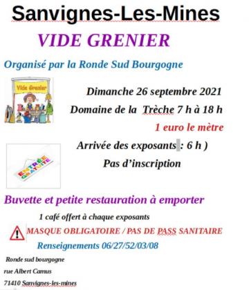 Vide-Greniers de Sanvignes-les-Mines