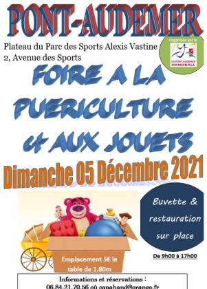 Foire aux jouets et à la puériculture de Pont-Audemer