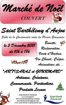 Marché de Noël de Saint-Barthélemy-d'Anjou