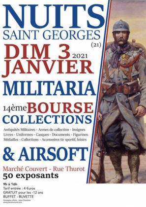 Bourse MILITARIA et Airsoft de Nuits-Saint-Georges