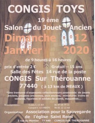 CONGIS TOYS, Salon du jouet ancien de Congis-sur-Thérouanne