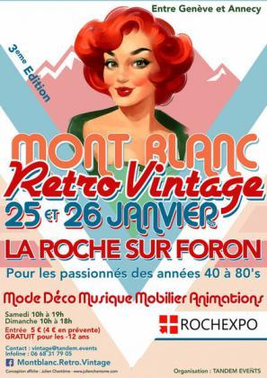 Salon Mont Blanc Retro Vintage de La Roche-sur-Foron