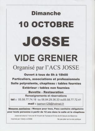 Vide-Greniers de Josse