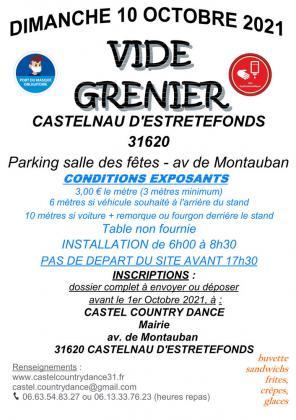 Vide-Greniers de Castelnau-d'Estrétefonds