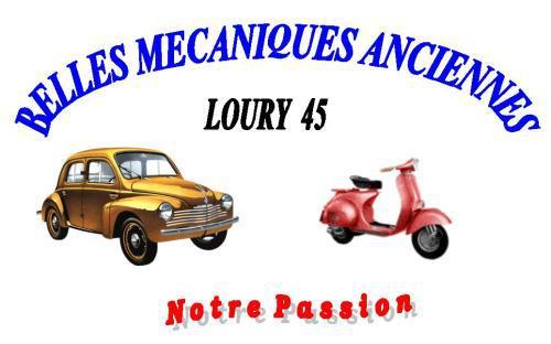 Exposition véhicules anciens d'avant 1984 de Loury