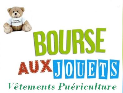 Bourse aux jouets, vêtements, puériculture de Saint-Luperce