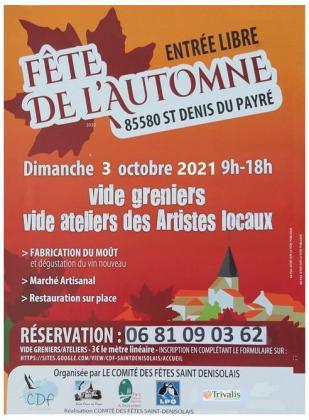 Vide-Greniers de Saint-Denis-du-Payré