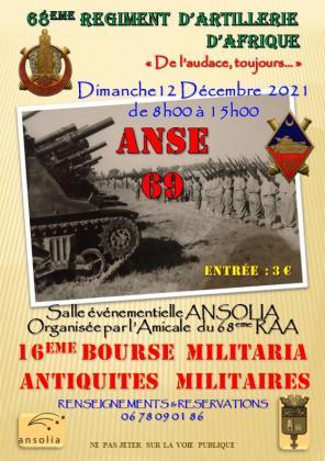 Bourse militaria et antiquités militaires - Anse