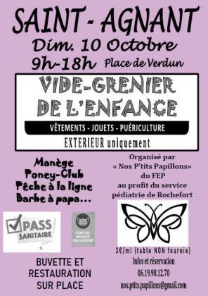 Vide-grenier de l'enfance - Saint-Agnant