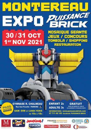 Expo briques puissance brick de Montereau-Fault-Yonne